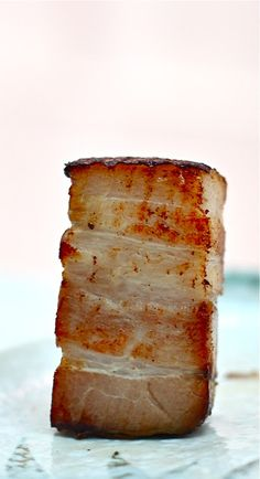 Extra Virgin Chef: Heston Blumenthal's 36-hour Sous Vide Pork Belly