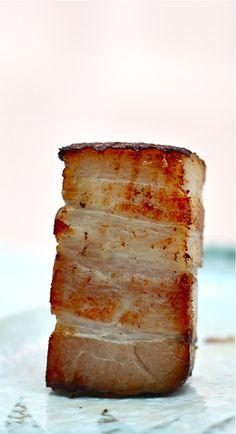 Extra Virgin Chef: Heston Blumenthal's 36-hour Sous Vide Pork Belly