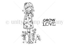 Lola Whimsy {Grow Love} - Unity Stamp Co