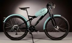 Electric bikes made from vintage moped parts out-hip even the coolest ride