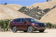 Significantly Enhanced 2015 Honda CR-V Earns a 2015 TOP SAFETY PICK