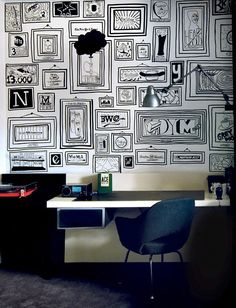 Timothy Goodman's Mural for the Ace Hotel, New York.
