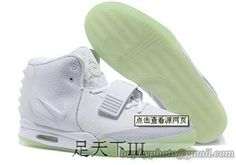 NIKE AIR YEEZY 2 Yeezy II NRG KANYE WEST Basketball Shoes White #cheapshoes #sneakers #runningshoes #popular #nikeshoes #authenticshoes