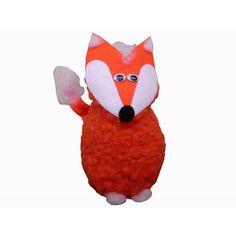 Fuchs als Ostergeschenk basteln: Der selbst gebastelte Fuchs hat es wirklich in sich! Der Körper besteht aus einem Styroporei. Darin können z.B. Süßigkeiten und andere nette Kleinigkeiten versteckt werden. Hier findest Du die komplette Bastelanleitung: http://www.trendmarkt24.de/bastelideen.fuchs-basteln.html#p