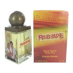 REBELDE by Rebelde 3.4 OZ EAU DE TOILETTE SPRAY NEW in Box for Children