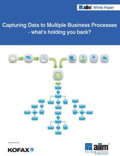 Capturing Data to multiple processes - What's holding you back Your Back, Hold You, White Paper, Business, Store, Business Illustration