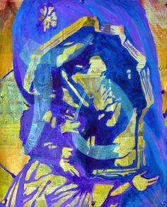 Items similar to Chapter original acrylic painting on mixed media and canvas on Etsy Mixed Media, Flag, The Originals, Canvas, Gallery, Etsy, Painting, Art, Tela