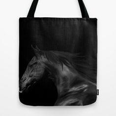 Digital Painting 3b Tote Bag by Horseaholic - $22.00