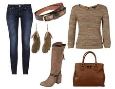 Casual outfit Fall look