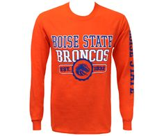 L/S Tee 2 Loc Front / Sleeve | Boise State Bronco Shop