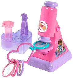 DAUGHTER'S - Doc McStuffins Microscope Set - Multicolor - $ 21.  http://www.ebay.com/itm/like/221652984005?lpid=82&chn=ps