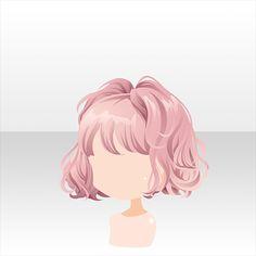 39 Best Short Curly Hair Images Chibi Hair Anime Hair
