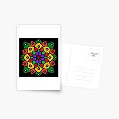 """Flower of Life Mandala"" Postcard by Pultzar | Redbubble"