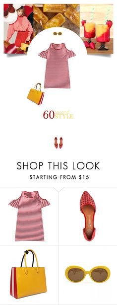 """""""Untitled #294"""" by soledestate ❤ liked on Polyvore featuring Fendi, Jeffrey Campbell, Prada, tshirtdresses and 60secondstyle"""