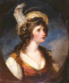 William Hamilton (English, 1751-1801)Portrait of Sarah Siddons, ca. 1780Oil on canvas, 32 x 27 in. (81.28 x 68.58cm)Oklahoma City Museum of Art.