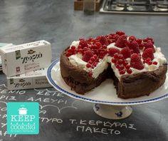 Κέικ σοκολάτα χωρίς αλεύρι Cheesecake, Sweet Home, Gluten Free, Sweets, Cooking, Desserts, Recipes, Food, Kochen