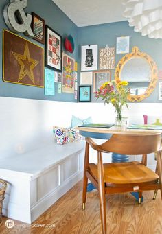 Designing Dawn | Around the House: Our Dining Nook