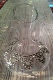 Lolita R Wine Decanter Frr ltt cns mbssd vtr Aluminum Foil Art, Aluminum Cans, Aluminum Metal, Pewter Art, Pewter Metal, Bottle Art, Bottle Crafts, Blue Wine Glasses, Metal Embossing