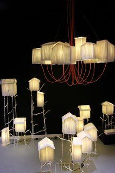 Sophie Mouton-Perrat and Frederic Guibrunet: suspension maison