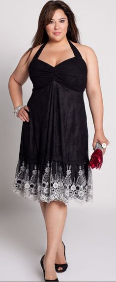 Plus Size...@Samantha Jackson and @Stacey Erickson .... we could ROCK THIS