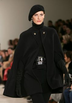 Ralph Lauren Fall 2006 runway fashion show at Skylight Studios during Olympus Fashion Week on February 10, 2006 in NYC