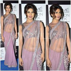 Priyanka Chopra in Manish Malhotra saree Bollywood Girls, Bollywood Celebrities, Bollywood Fashion, Bollywood Actress, Priyanka Chopra Saree, Manish Malhotra Saree, Indian Film Actress, Beautiful Indian Actress, Beautiful Actresses