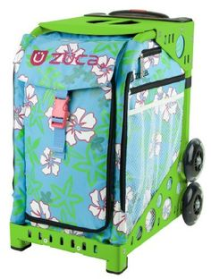 """Zuca Bag Jamaica (Green Frame) by ZUCA. $150.00. Pronounced """"HA-MIKE-AH"""", the Spanish name for hibiscus, these boldly colored flowers are famous for their soothing effect."""