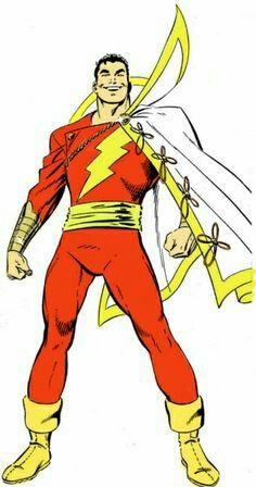 Shazam/Captain Marvel (Billy Batson) by John Byrne