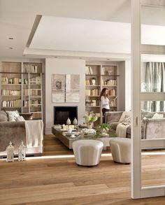 Una casa llena de luz en el oeste de Madrid · ElMueble.com · Casas - #decoracion #homedecor #muebles