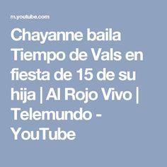 Chayanne baila Tiempo de Vals en fiesta de 15 de su hija | Al Rojo Vivo | Telemundo - YouTube