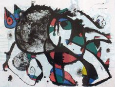 Hommage à Masson Limited Edition Print - Lithograph Hand Signed - Lower right Size - 36 x 25 Asking Price: $18,800