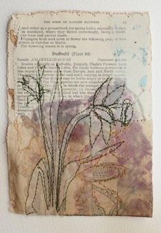 Wren Square Drawing and stitch are closely related in my work .Both are about the making of marks Wren Square Drawing and stitch are closely related in my work .Both are about the making of marks I use materials collected a. Free Motion Embroidery, Embroidery Art, Machine Embroidery, Square Drawing, Cas Holmes, A Level Textiles, Creation Art, Textiles Techniques, Art Techniques