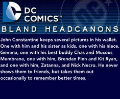Constantine Hellblazer, John Constantine, Wayne Enterprises, Sanji One Piece, Justice League Dark, Dc Memes, Batman Family, Joker And Harley Quinn, Young Justice