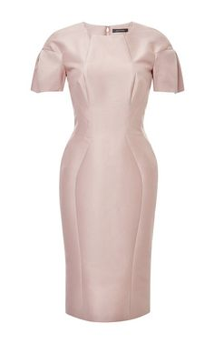 Cotton and Silk-Faille Dress by Zac Posen Now Available on Moda Operandi  Everyday Dresses 3baba74b828c3