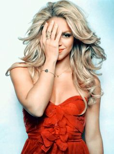 """Shakira... Developing a girl-crush after watching her on this season of """"The Voice"""" :)"""