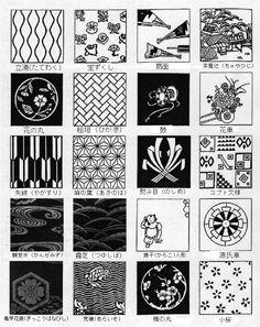 Pattern Art, Pattern Design, Blackwork Embroidery, Japan Design, Doodle Designs, Japanese Patterns, Japan Art, Drawing Reference, Aesthetic Anime