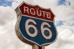 route 66 sign highway Free Stock Photo - StockSnap.io