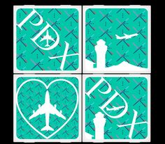 more carpet square coasters - available from House of Six Cats, 4327 SE 136th, Portland