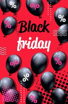 Black friday special offer sale poster with air balloons shopping flyer holiday promotion hot price discount concept vertical vector illustration. Download it at freepik.com! #Freepik #vector #gift #shopping #marketing Air Balloon, Balloons, Pinterest Makeup, Sale Poster, Black Friday, Promotion, Concept, Marketing, Hot