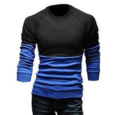 Partiss Herren U-Ausschnitt Stitching T-Shirt Hoodie, 44,blue Partiss http://www.amazon.de/dp/B00U6WN6XU/ref=cm_sw_r_pi_dp_1I60wb1QXJ5TV