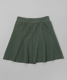 Love this Cilantro A-Line Skirt - Toddler & Girls on #zulily! #zulilyfinds