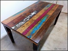 Custom Reclaimed Wood Dining Table // Desk // Console //