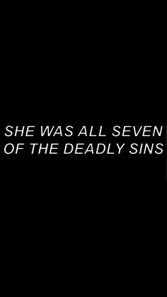 """""""She was all the seven of the deadly sins"""" Character Aesthetic, Quote Aesthetic, Dark Quotes, Me Quotes, Devil Quotes, Qoutes, Story Inspiration, Writing Inspiration, Writing Prompts"""