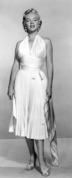 Here you can really see the details in the dress that starred in the famous scene in The Seven Year Itch.
