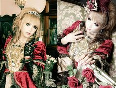 """It really should be a crime for guys to look this pretty.  x3 (Hizaki, guitar player for the Visual Kei band, """"Versailles"""")"""
