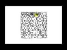 Zentangle Patterns   Tangle Patterns - Sparkool - YouTube