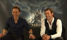Tom Hiddleston adopted by the Hemsworth family? And what has Mowgli from the jungle book to do with all of this? Who would have thought that Thor & Loki are ...