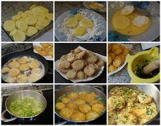 Preparación de las patatas a la importancia