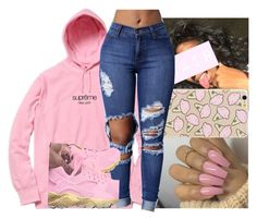 """I spy-Lil yatchy ft.KYLE"" by babygirlkikig ❤ liked on Polyvore"