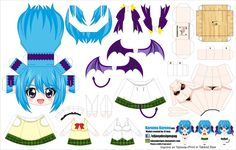 DeviantArt: More Like Hermione Granger - Cubeecraft by asuzz Anime Diys, Anime Crafts, Rosario Vampire, Paper Toys, Paper Crafts, Pokemon, Chibi Girl, Crafts For Girls, Paper Models